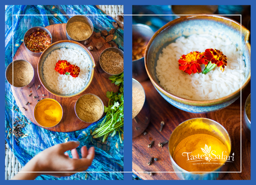 Spicy Indian puffed rice Breakfast Bowl